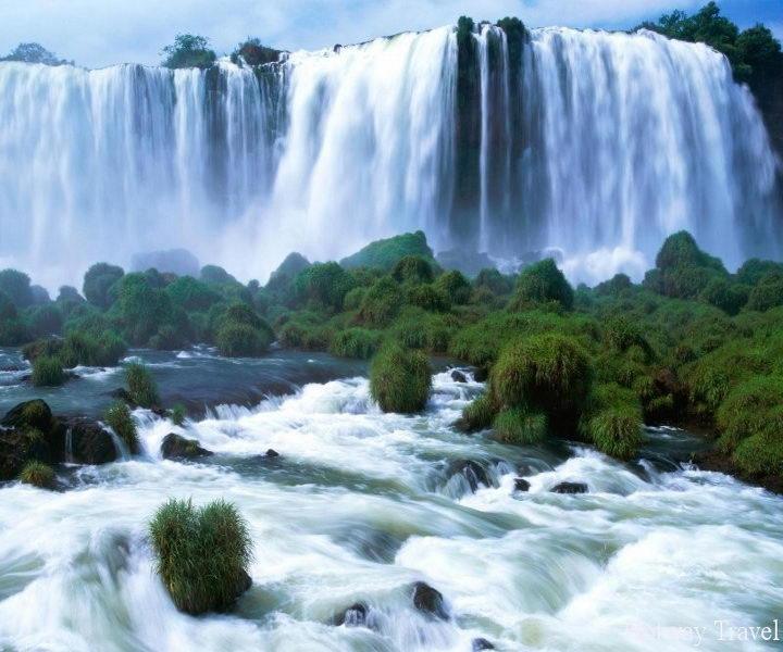 туры в Бразилию вечер водопад