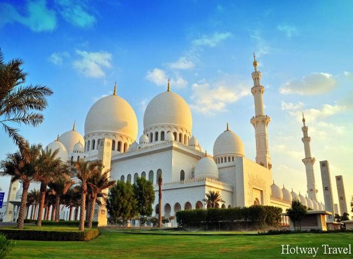 Туры в ОАЭ в апреле здание