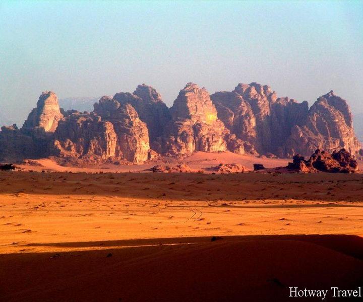 Туры в апреле в Иорданию пустыня