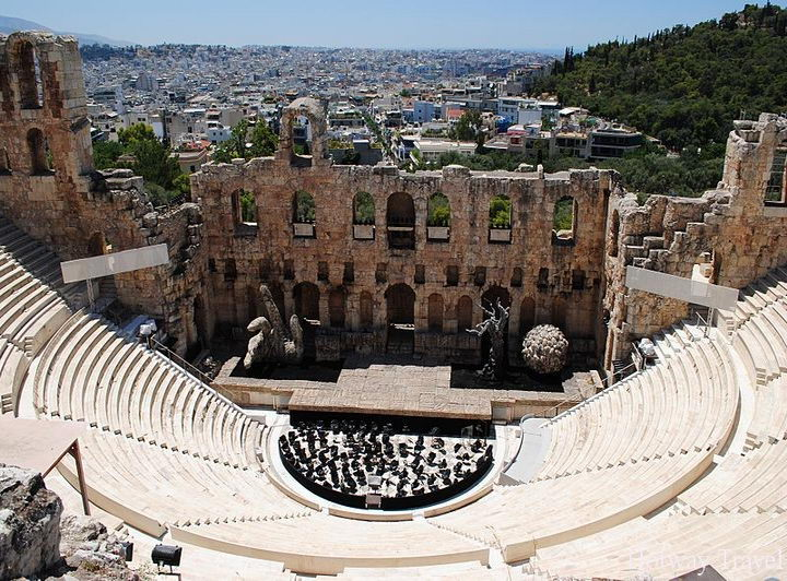 Туры р Грецию в мае амфитеатр