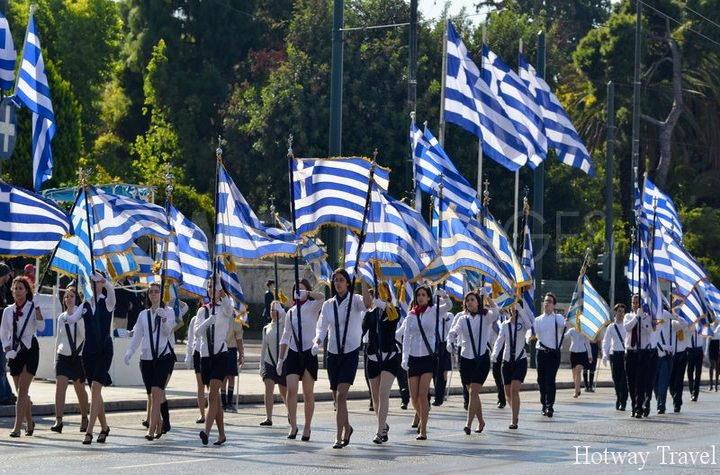 Туры р Грецию в мае парад