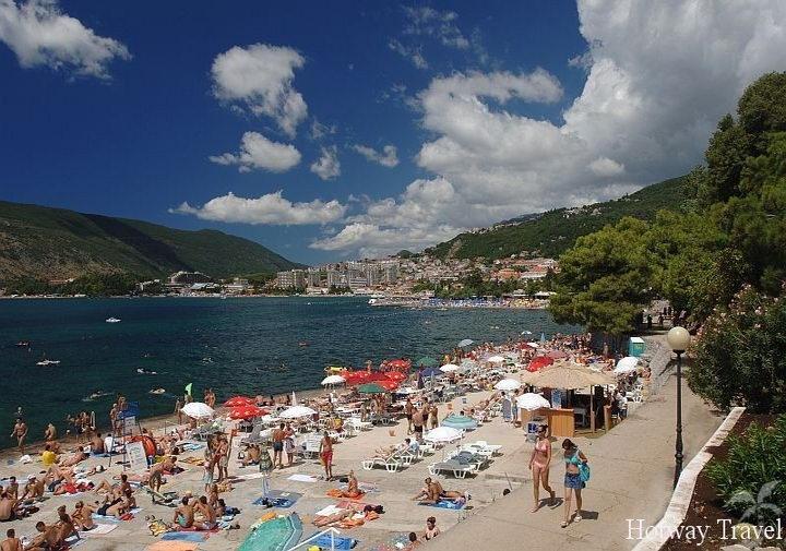 Туры в Черногорию в мае пляж1
