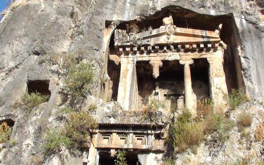 Туры в Фетхие в мае гробница