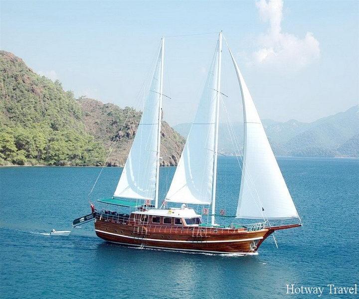 Туры в Фетхие в мае яхта