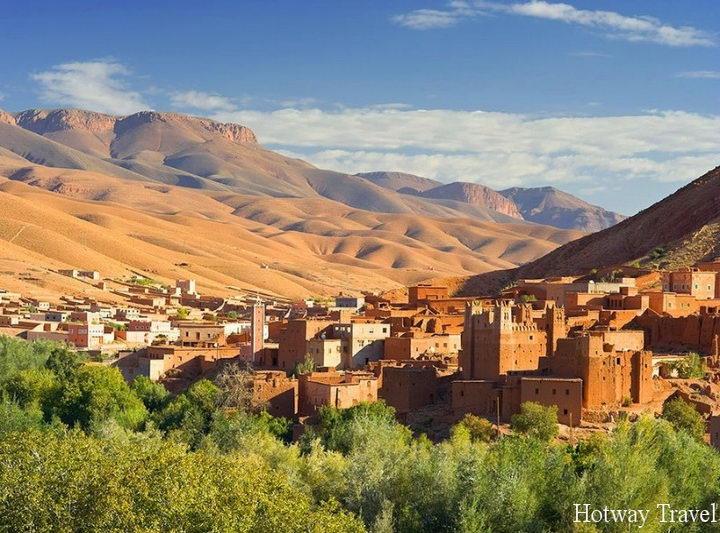 Туры в Марокко в мае природа