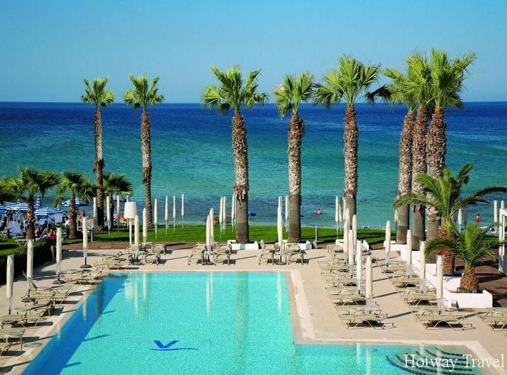 Отдх на Кипре в июне море пальмы