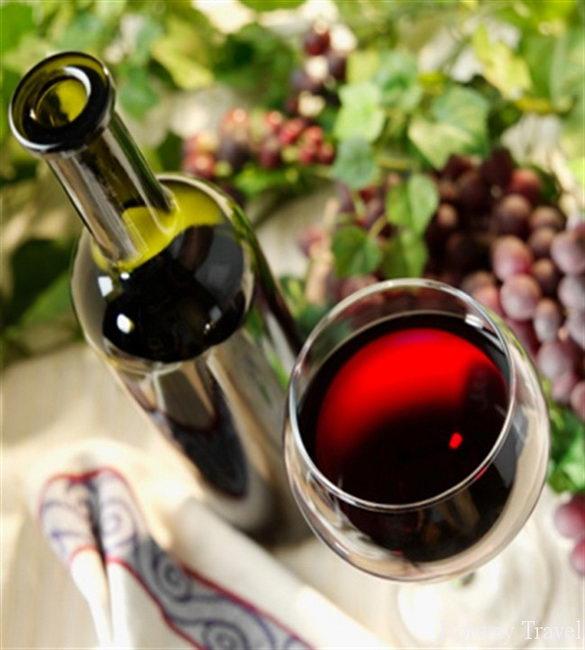 Отдых на Кипре в июле вино2