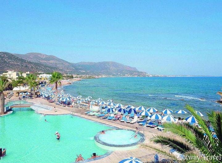 Отдых на Крите в июле море
