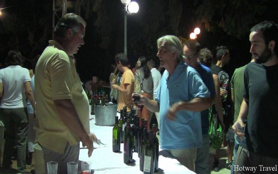 Отдых на Крите в июле вино фестиваль1
