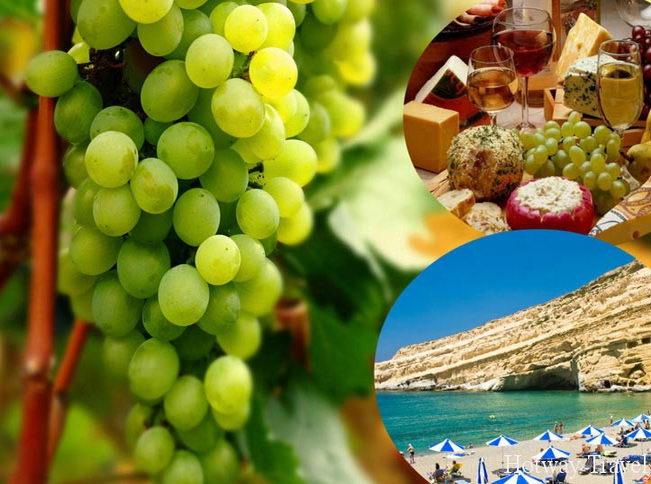 Отдых на Крите в июле вино
