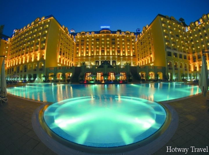 Отдых в Болгарии в июле вечер
