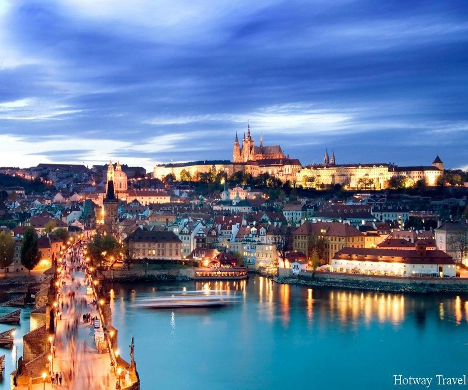 Отдых в Чехии в июле вечер