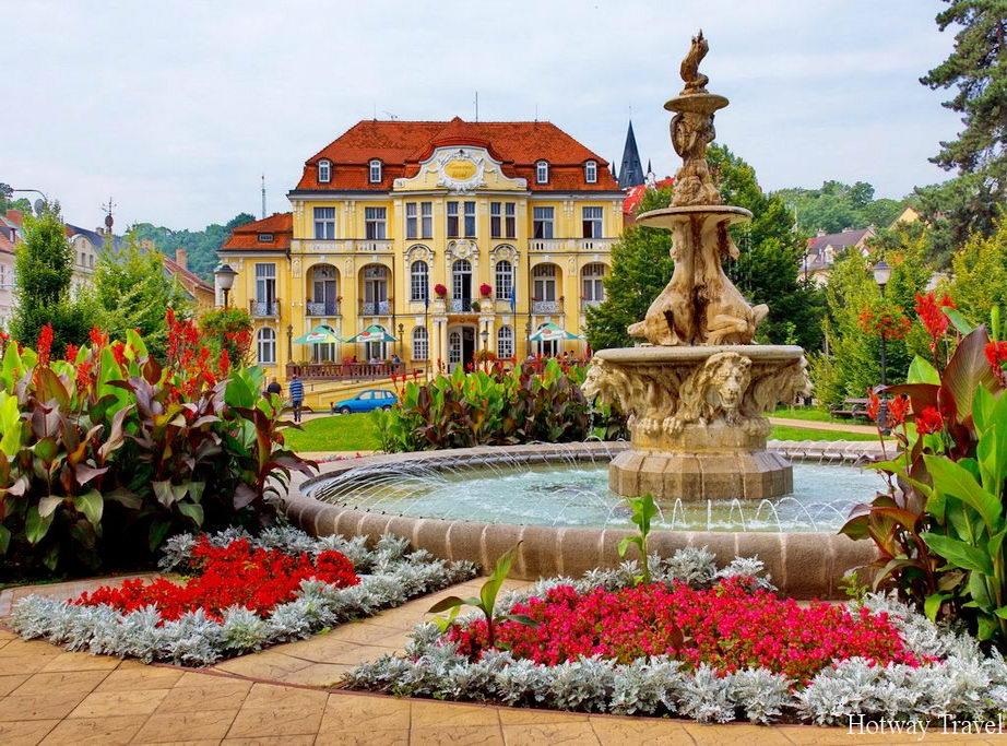 Отдых в Чехии в июле замок