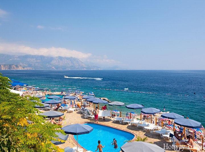 Отдых в Черногории в июле пляж 3