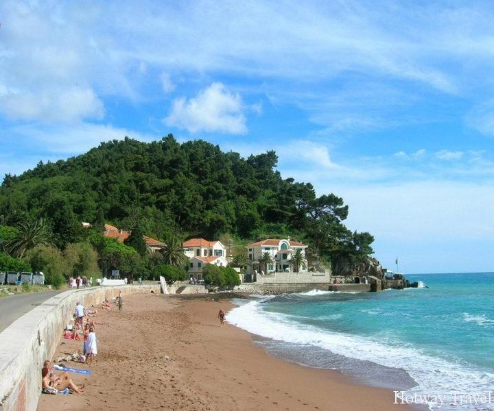 Отдых в Черногории в июле пляж