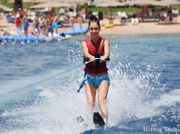 Отдых в Египте в июле водные лыжи