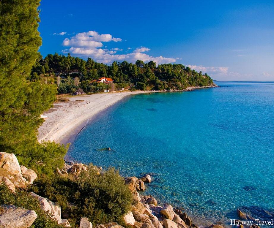 Отдых в Греции в июле Халкидики