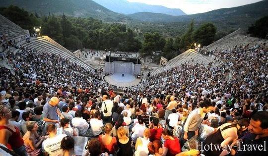 Отдых в Греции в июле фестиваль