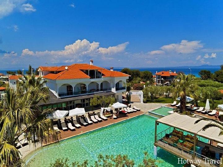Отдых в Греции в июле отель1