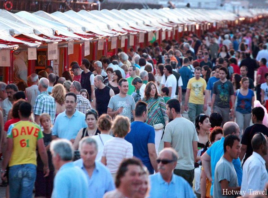 Отдых в Греции в июле ярмарки