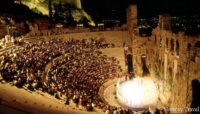 Отдых в Греции в июне 1Афинский фестиваль