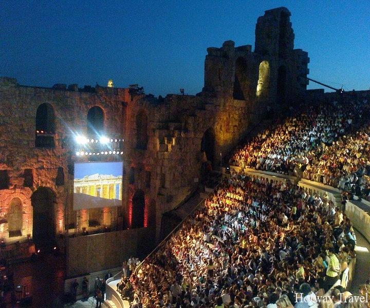 Отдых в Греции в июне Эпидвар фестиваль