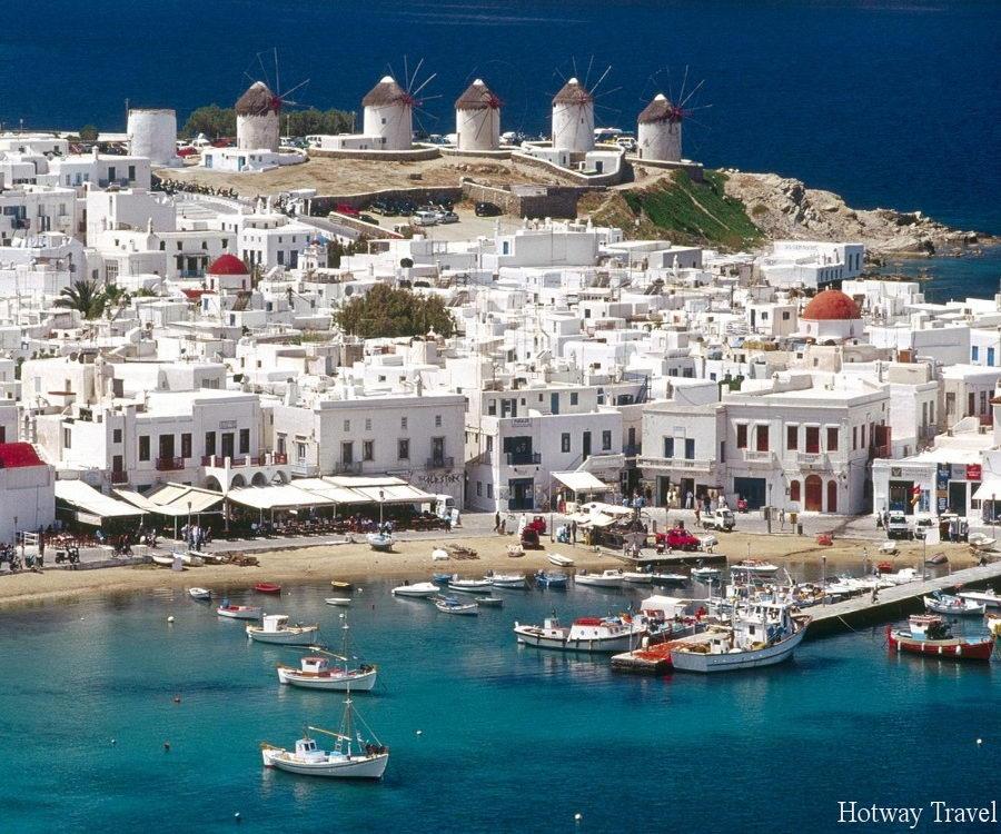 Отдых в Греции в июне дома яхты