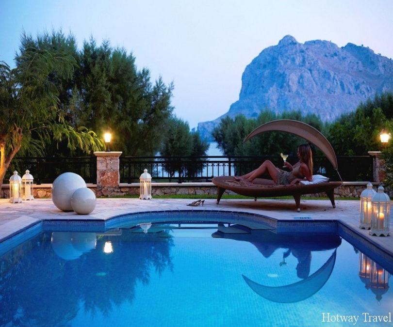 Отдых в Греции в июне отель девушка