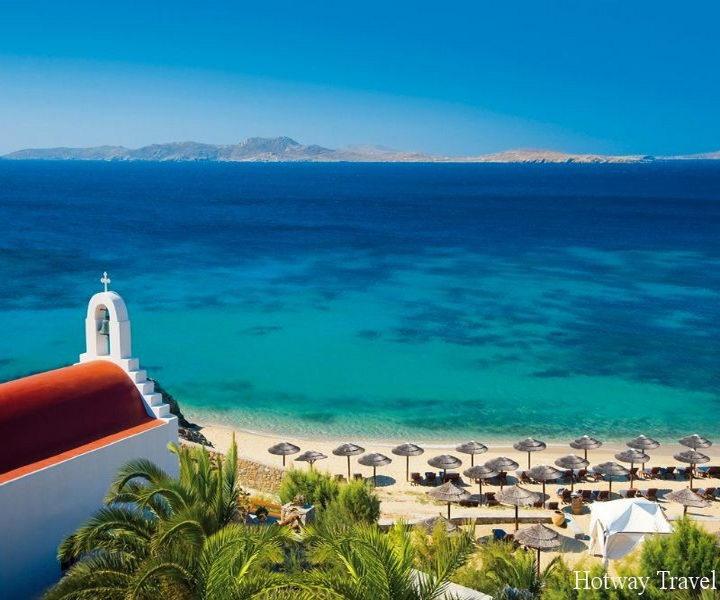 Отдых в Греции в июне пляж