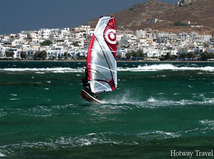 Отдых в Греции в июне серфинг