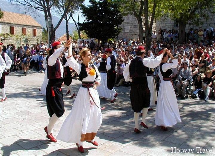 Отдых в Хорватии в июле фестиваль 1