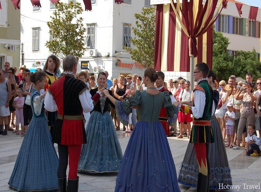 Отдых в Хорватии в июле фестиваль 2
