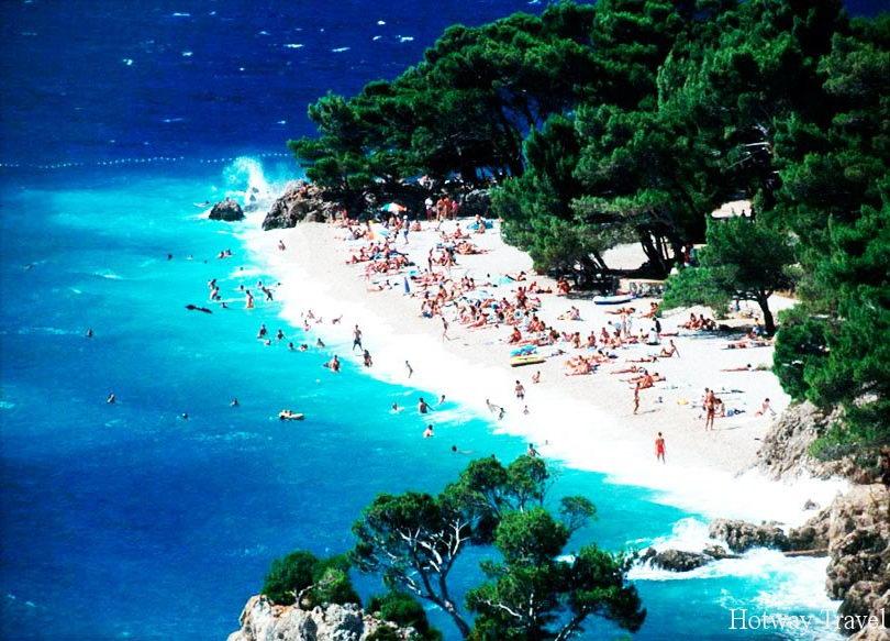 Отдых в Хорватии в июле пляж