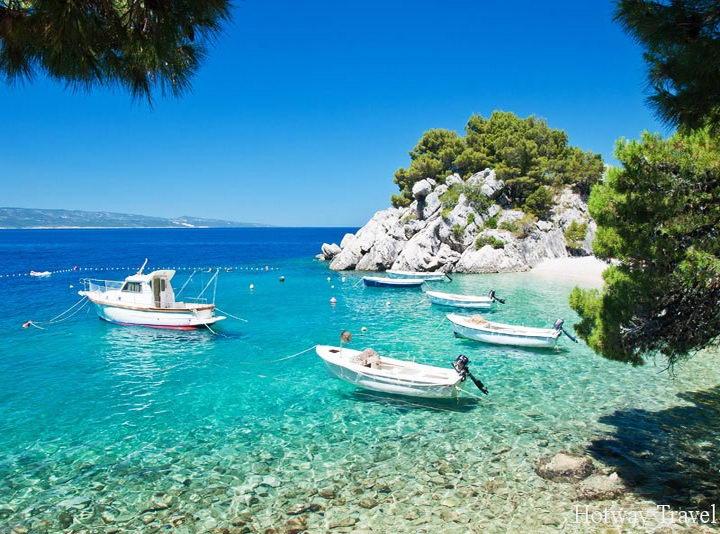 Отдых в Хорватии в июле яхта