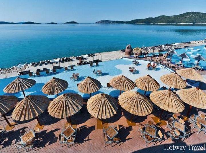 Отдых в Хорватии в июне пляж