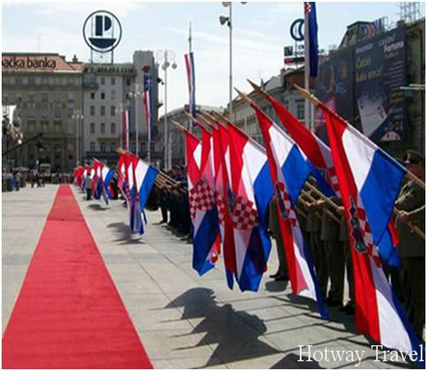 Отдых в Хорватии в июнеДень Державы1