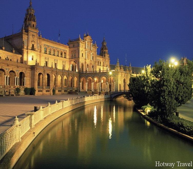 Отдых в Испании в июне вечер