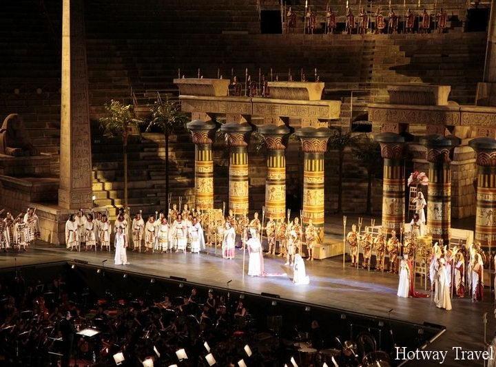 Отдых в Италии в июле Оперный фестиваль