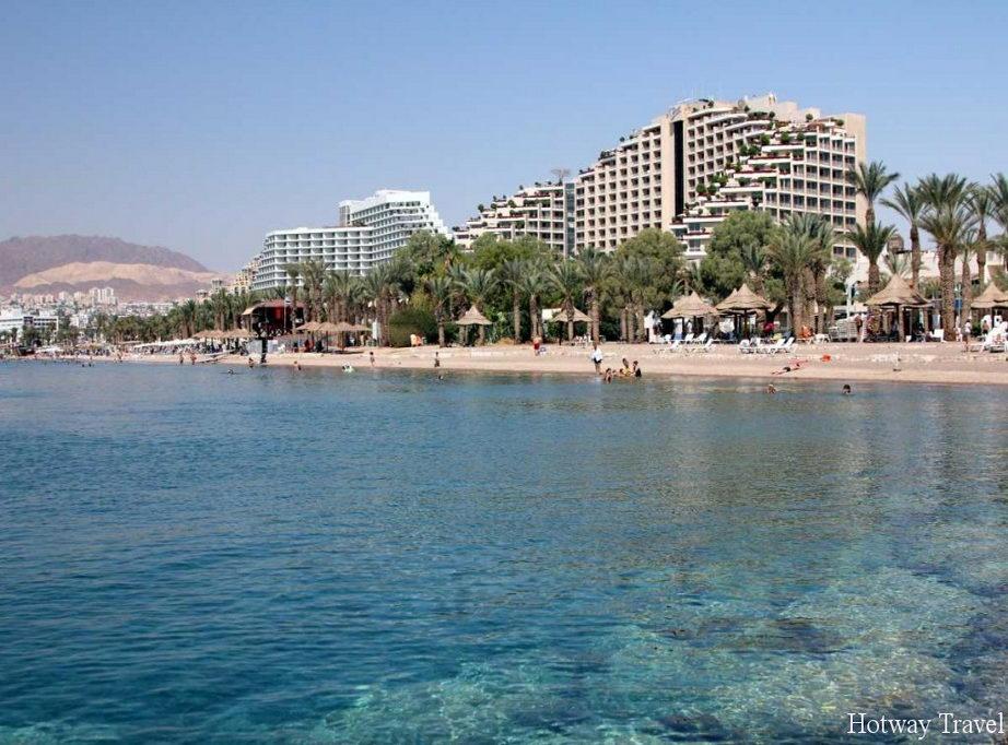 Отдых в Израиле в июне пляж