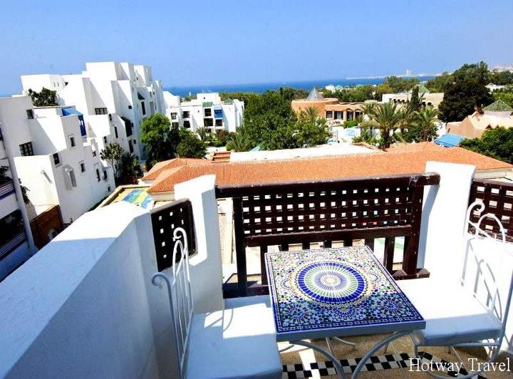 Отдых в Марокко в июне белые домики