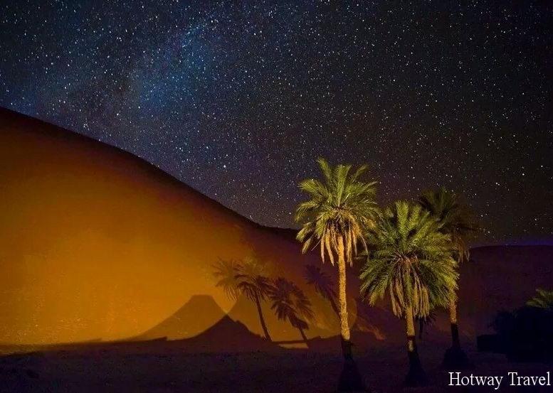 Отдых в Марокко в июне ночь