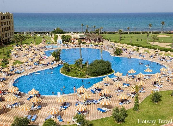 Отдых в Тунисе июнь отель басейн