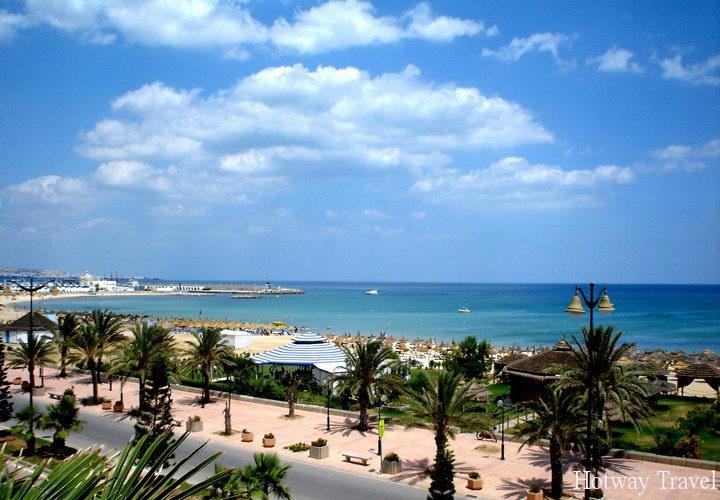 Отдых в Тунисе июнь пляж