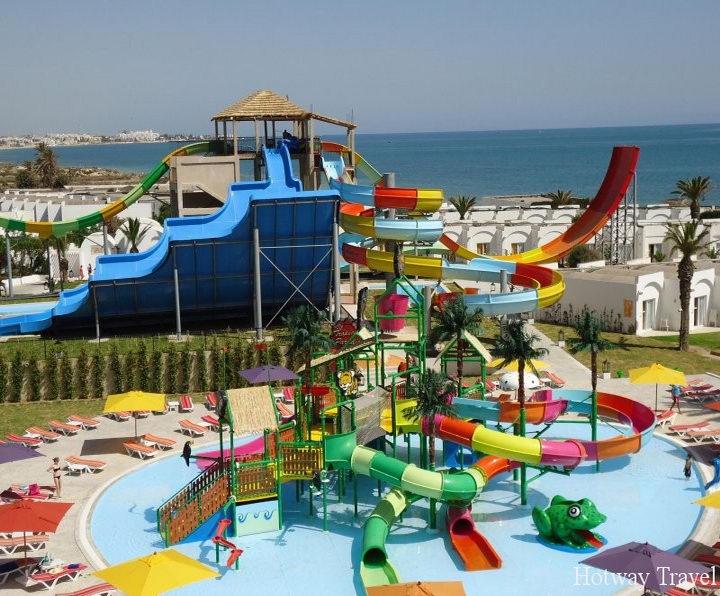 Отдых в Тунисе в июне аквапарк