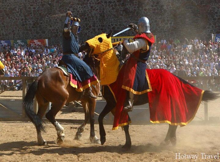 Отдых в Венгрии в июле рыцари
