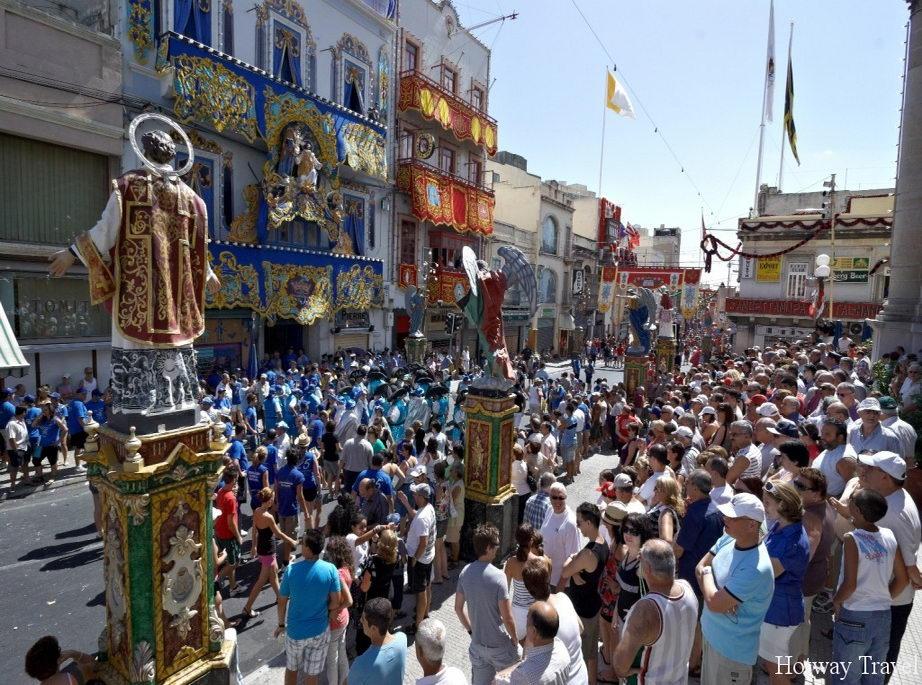 Отдых в июле 2015 на Мальте праздник1