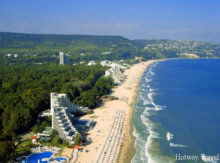 Отдых в июне 2015 года в Болгарии пляж1