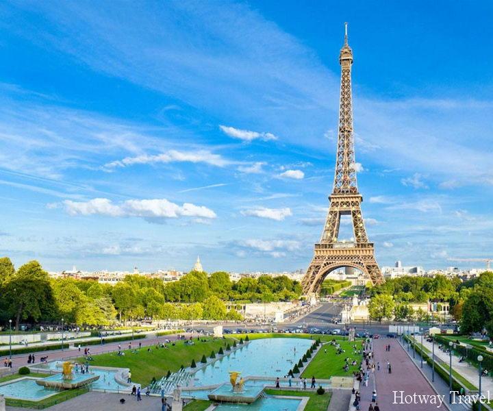 Отдых во Франции в июле башня