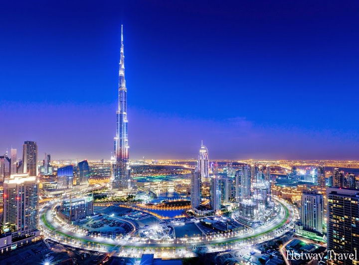 Эмирата летом башня