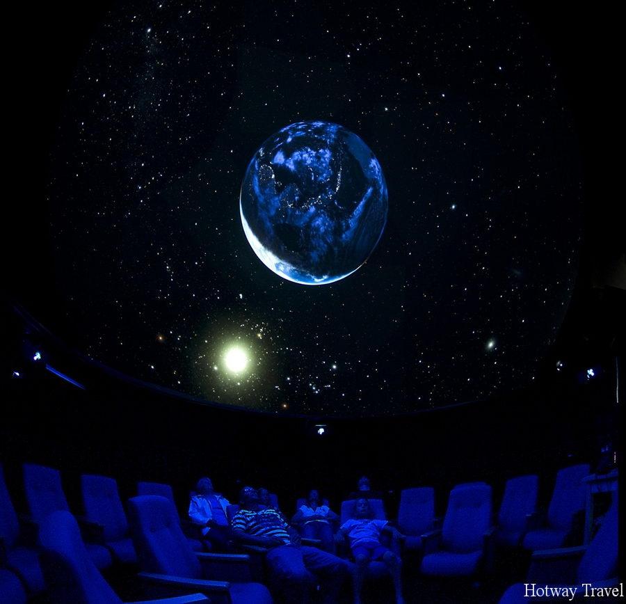 Эмирата летом планетарий